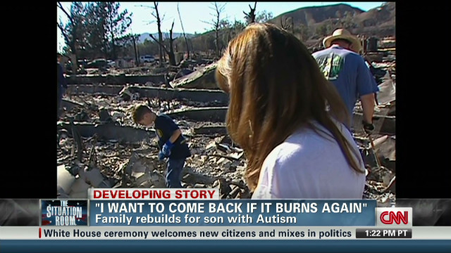Rebuilding from the ashes of a wildfire