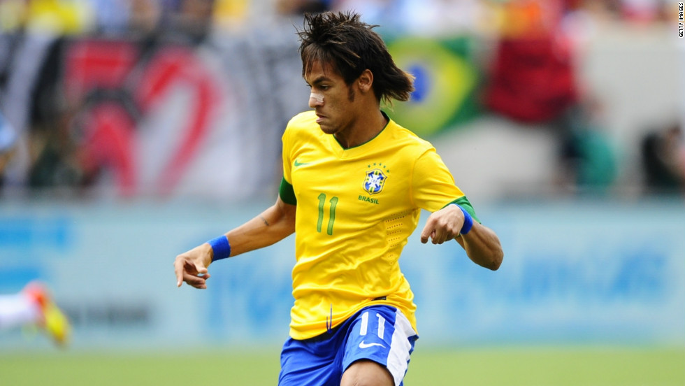 Brazil will feel the weight of expectation when the World Cup is hosted in the country in 2014. One of the stars of the current Brazil team is forward Neymar, who has consistently been linked with a move away from Santos.