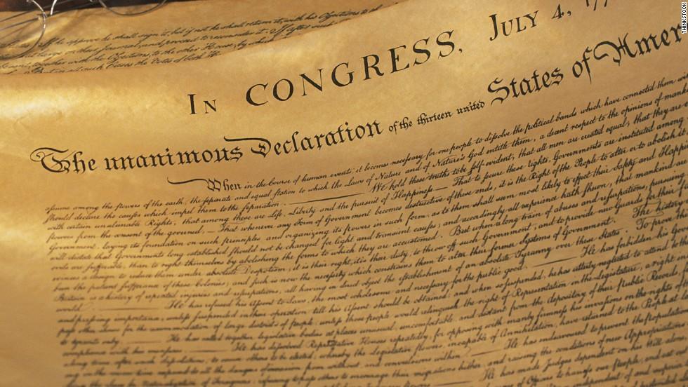 declaration of independence cnn com