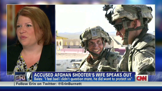 Sgt. Bales' wife speaks out