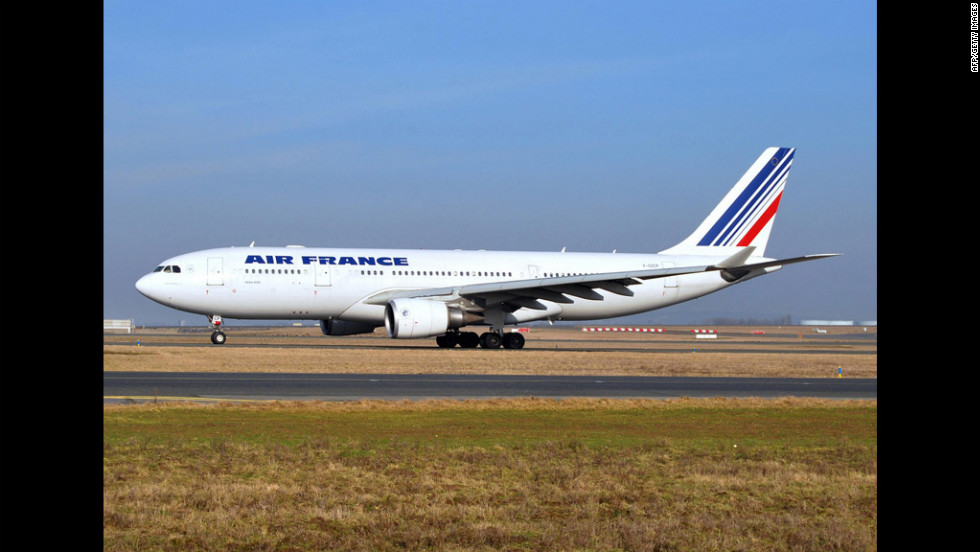 A picture taken in early 2009 shows the Air France Airbus A330 that was lost in the Atlantic Ocean.