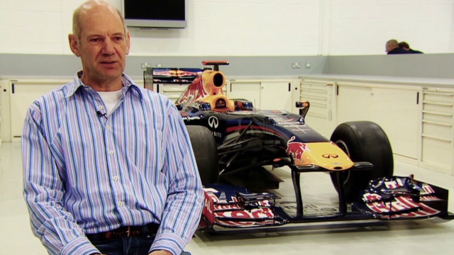 Designing a Formula One car