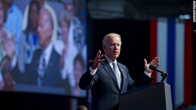Vice President Joe Biden addressed the annual convention of an influential teachers union in Washington July 3.