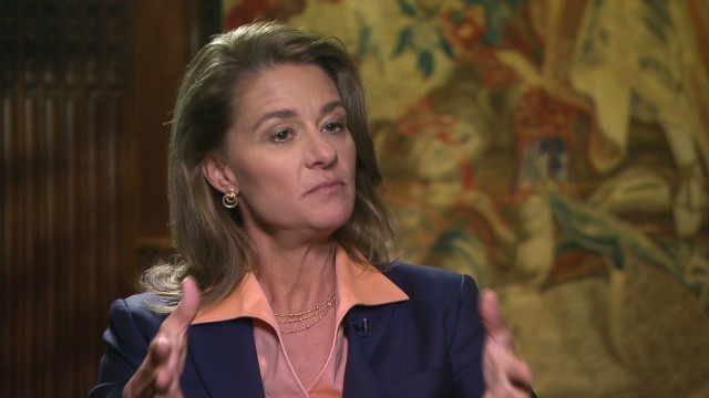 Melinda Gates on providing contraception