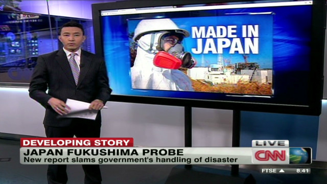 Report says Japan failed with Fukushima