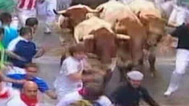High anticipation for Pamplona bull run