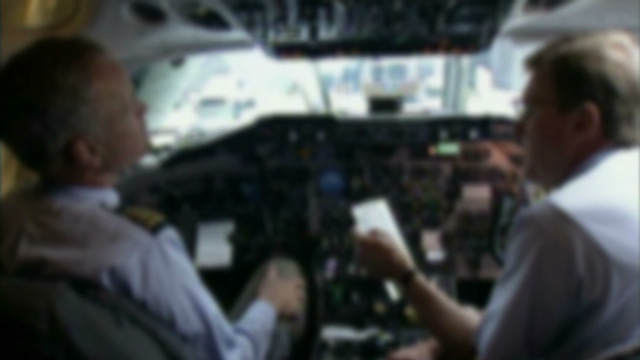 Training pilots to deal with a crisis