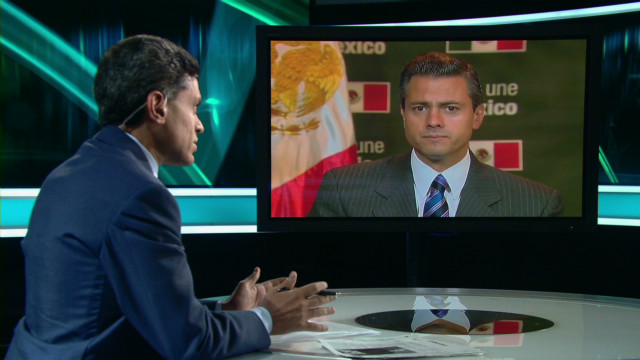 Peña Nieto on the drug war