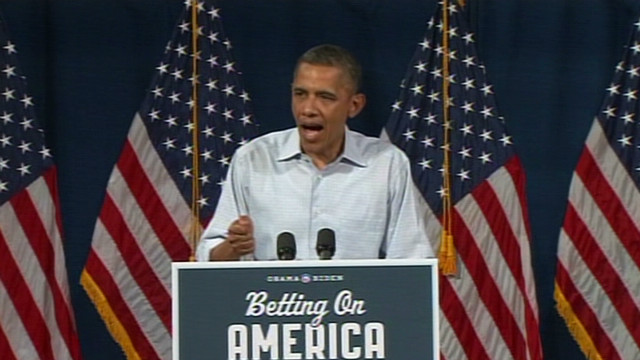 Obama: Jobs report in 'right direction'