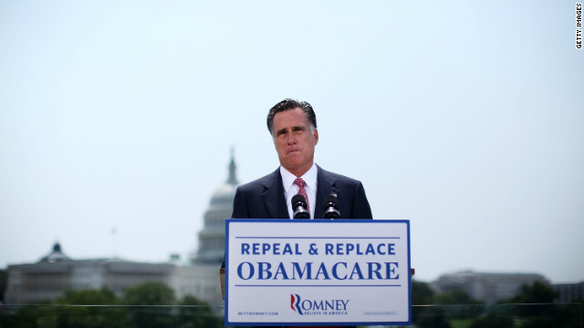 Dean Obeidallah says Mitt Romney passed a health care mandate identical to Obamacare's, but he wouldn't call it a tax.
