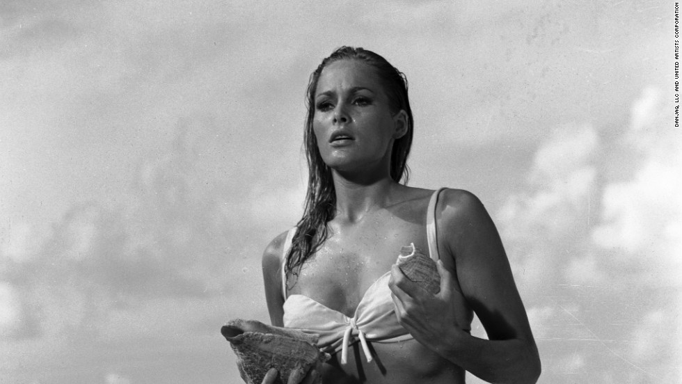 Honey Ryder, played by Ursula Andress, was the first Bond Girl.