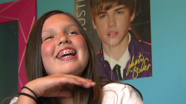 Nearly blind Bieber fan's fading dream