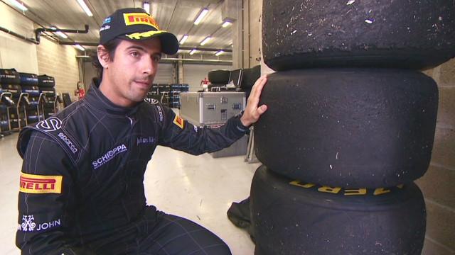 Designing Formula One tires