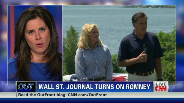 WSJ slams Romney campaign