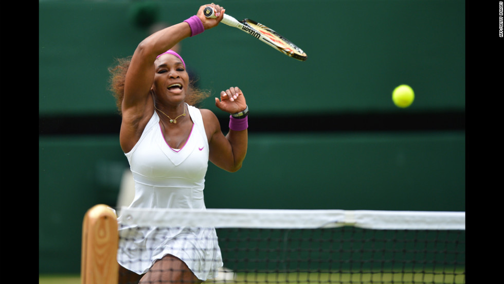 Going into Saturday's final, Williams boasted 85 aces in this year's tournament, second only to German quarterfinalist Philipp Kohlschreiber, who has 98 to his name.