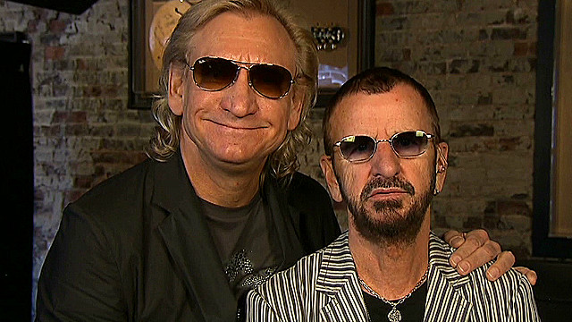 Ringo Starr, still rocking out at 72