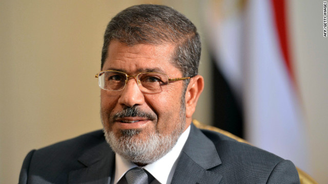 Learning about Egypt's Morsy