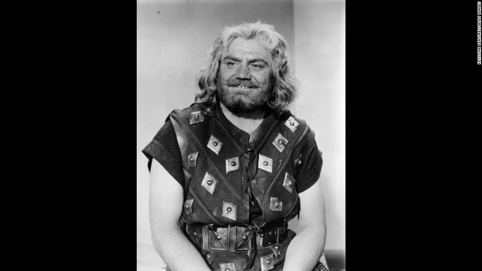 "In 1958, Borgnine appears as a Norseman in the Richard Fleischer film ""The Vikings."""