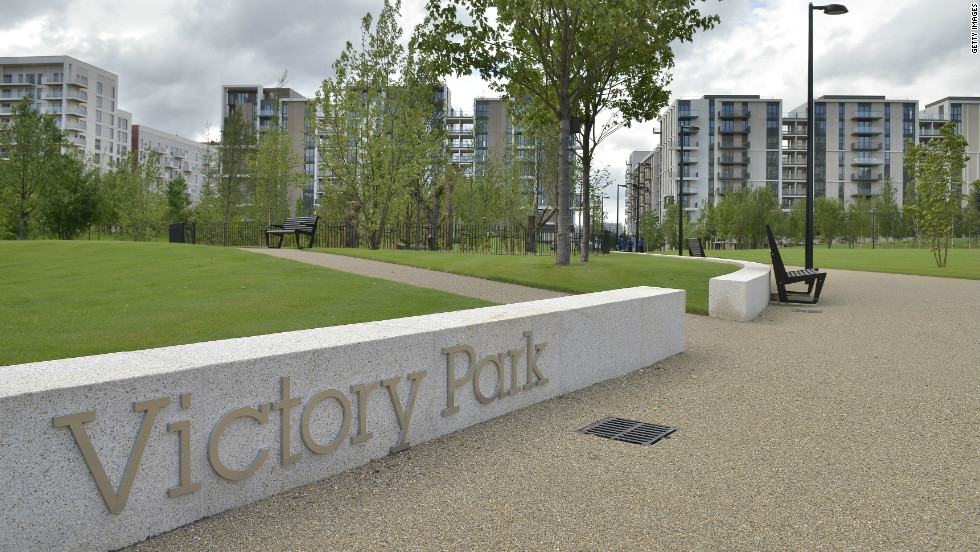 The Olympic Village -- Victory Park -- will play host to around 17,000 athletes and officials during the Games. The complex includes 10,000-square meters of green roof.