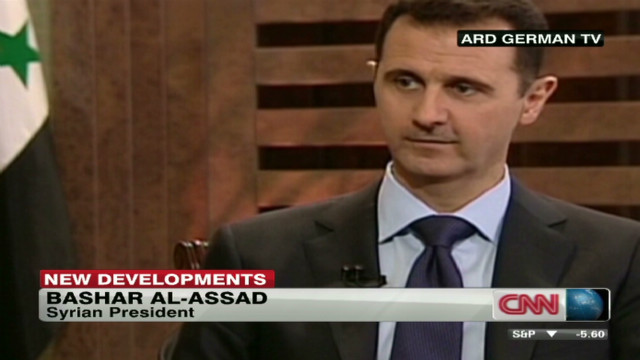 damon syria talks assad_00014723
