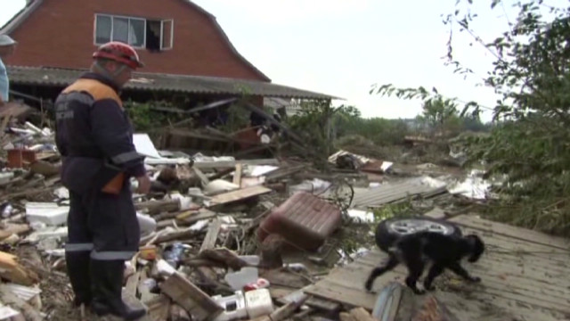 Death toll rises in Russian flooding