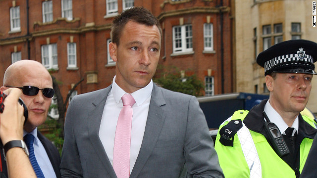 John Terry was cleared at a trial last month of racially abusing QPR player Anton Ferdinand.