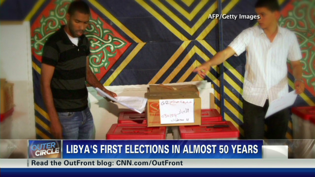 First election since Gadhafi's ouster