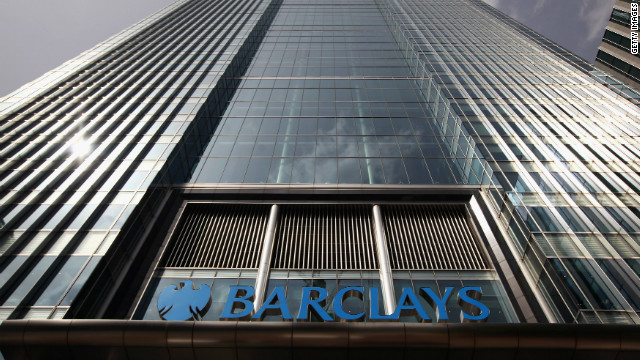 Barclays Bank was fined  290 million GBP last week for manipulating the Libor inter-bank lending rate