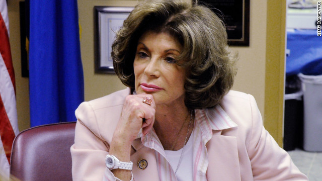 Democratic Rep. Shelley Berkley, pictured in 2011, is running for a U.S. Senate seat in Nevada.