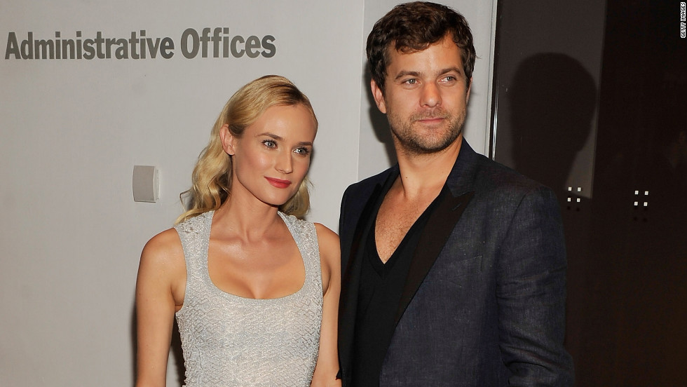 Diane Kruger and Joshua Jackson attend a 'Farewell, My Queen' screening in New York City.