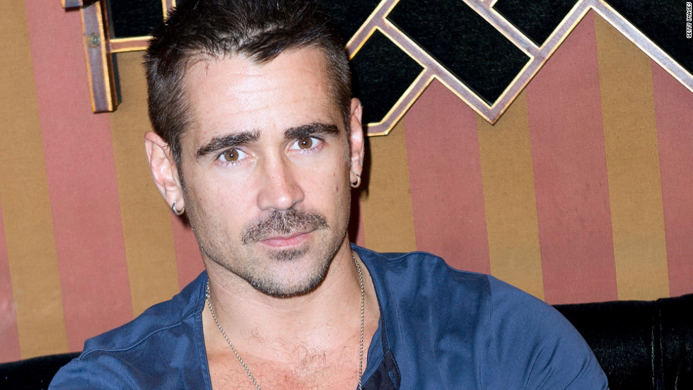 "Colin Farrell attends the ""Total Recall"" photocall in Paris."