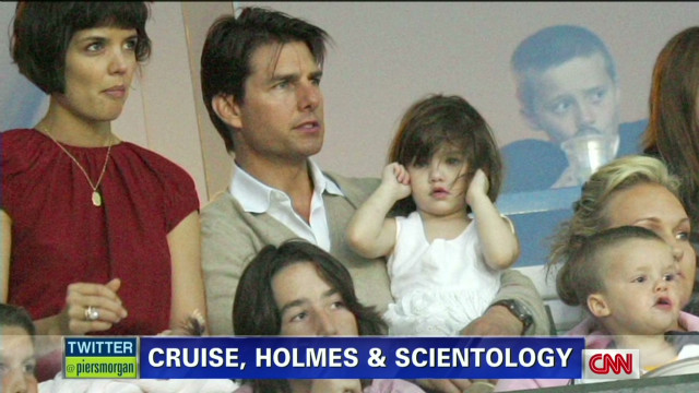 Cruise, Holmes and Scientology