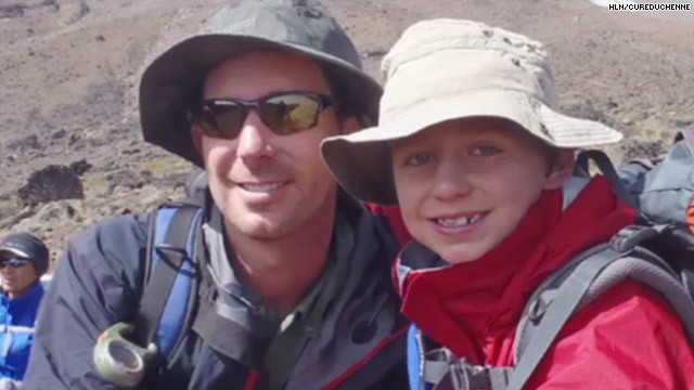 Eight-year-old Tyler Armstrong climbed Mt. Kilimanjaro to raise money for muscular dystrophy research.