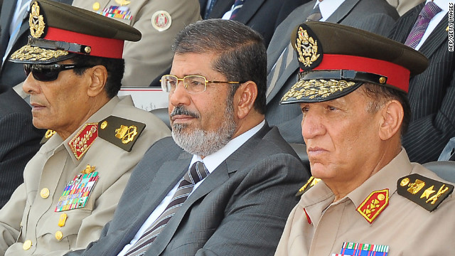 Egypt president's power shift reduces military influence