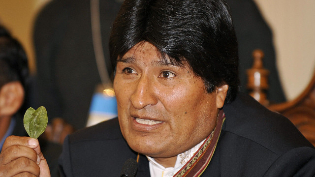 Evo Morales has long fought to decriminalize the practice of chewing coca leaves, which the U.N. has banned for decades.
