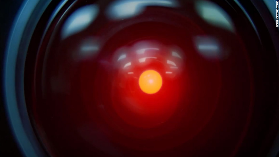 "In the 1968 science fiction film ""2001: A Space Odyssey,"" it's computer HAL 9000 that has real control of spacecraft Discovery One, not the astronaut crew."