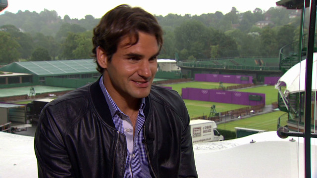 Federer reflects on Wimbledon win