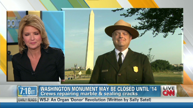 Washington Monument's 'extensive' repair