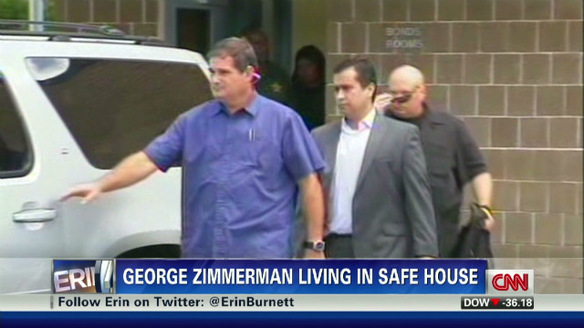 George Zimmerman's safe house