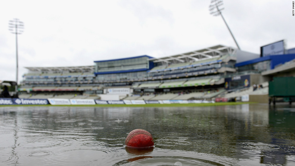 Cricket, a quintessentially British summer sport, is also at the mercy of the weather. England's series with the West Indies and Australia were both affected.