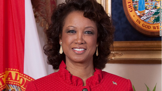Florida Lt. Governor Jennifer Carroll supports Governor Mitt Romney.