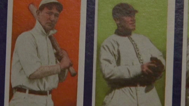 Man finds baseball 'cardboard gold'