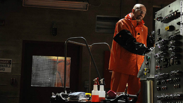 "Walter White (Bryan Cranston) completed his transformation into ruthless drug kingpin during season 4 of  ""Breaking Bad."""