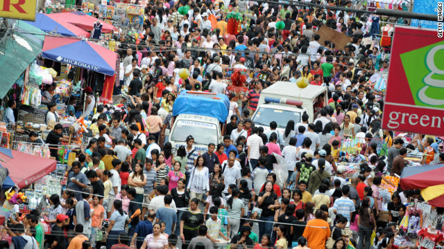 It is estimated that 11% of the Philippines' population of 92 million work overseas