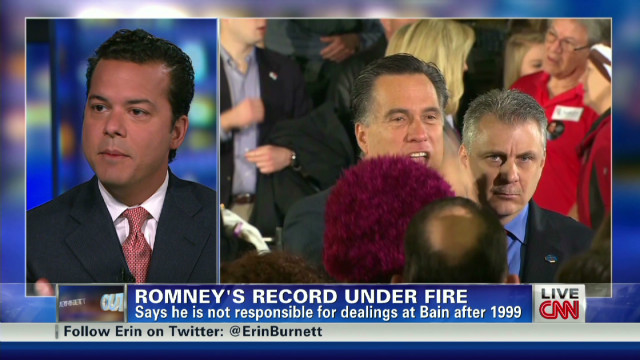 Romney faces questions over Bain