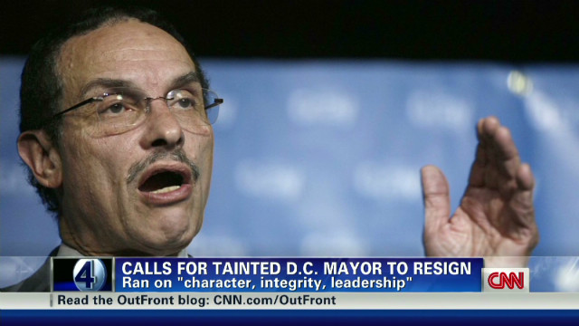 D.C. mayor faces litany of problems