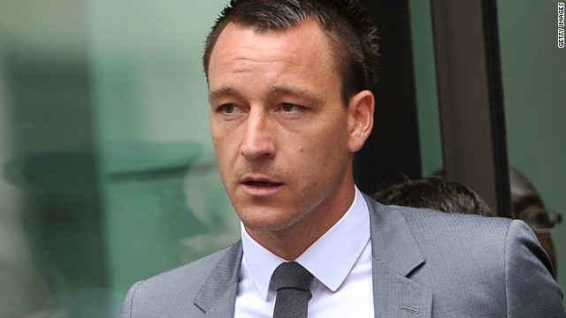 John Terry leaves court after being cleared of a charge of racial abuse (Getty Images)