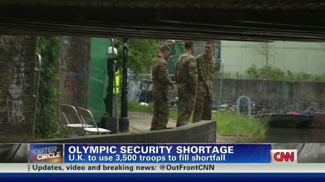 Extra security for Olympic games