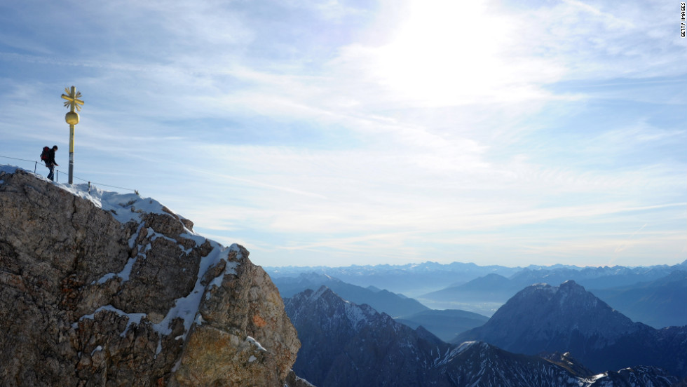 If a hike is what you're after, try Zugspitze, the highest mountain in Germany.