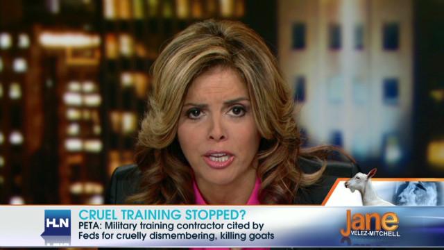 2012: Coast Guard torturing goats?